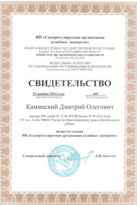 Expert Kaminskiy Roo2