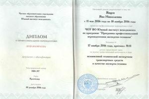 Expert Yancen Diplom1